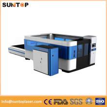 Máquina de corte del laser de la fibra del Ipg 3000W / máquina de corte del laser de la fibra del poder más elevado
