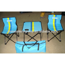 Folding table and chair,Popular 3 pieces camping sets for hiking.