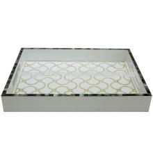 CBM-WPTU Подставка для пиршеств для мам из перламутровой бумаги с бумагой paua