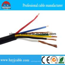 3X4mm2 Kvv многожильный кабель с изоляцией из ПВХ и оболочкой