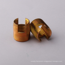 Iso Metric UNC brass self tapping coils