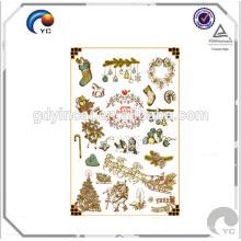 Tätowierungsaufkleber der speziellen Spezialeffektmake-up permanenten für Weihnachten