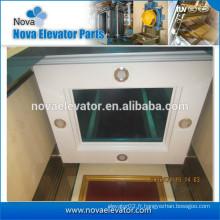 Plafonnier ascenseur avec éclairage LED