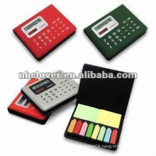 memo pad mini calculator for office