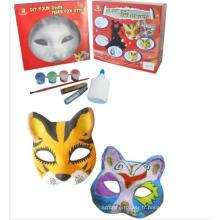 Fox blanc masques blancs en gros