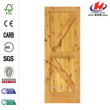 Solid Core Prefinished Natural Alder Interior Door Slab