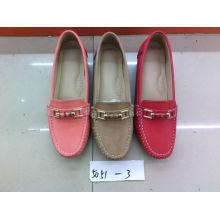 Falt & Comfort Señora zapatos con TPR suela (SNL-10-057)
