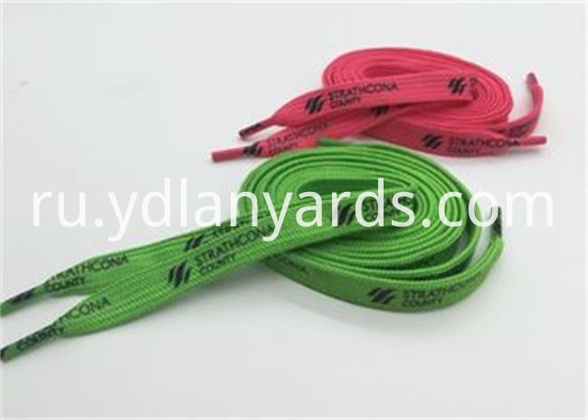 Silk Screen Craft Shoelace
