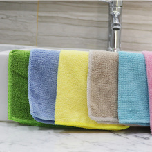 80% Polyster Superfine Fiber Warp Knitted Cleaning Towel