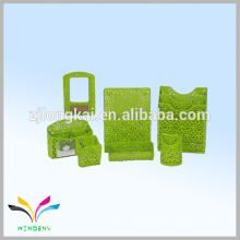 Wholesale metal mesh mini stationery gift set office with pen pencil case
