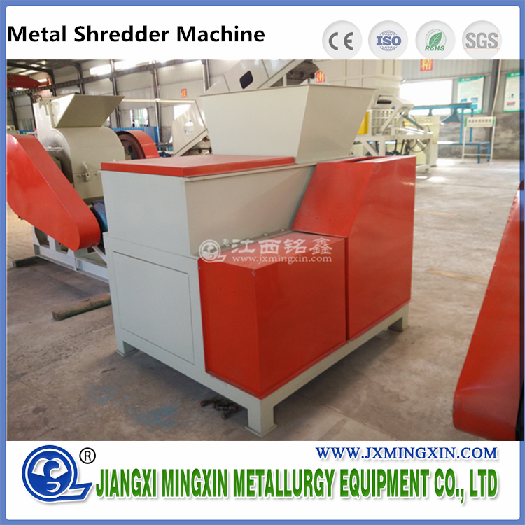 Single Shaft Crusher untuk Metal Recycling