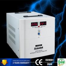 Full Range Servo Motor Type Input 140 to 260V Output 220V 3% Voltage Stabilizer