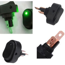 LED Light Car / Barco Auto Rocker Spstboat Switch