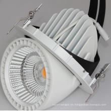 35W 155mm agujero CREE COB LED trunk luz de techo