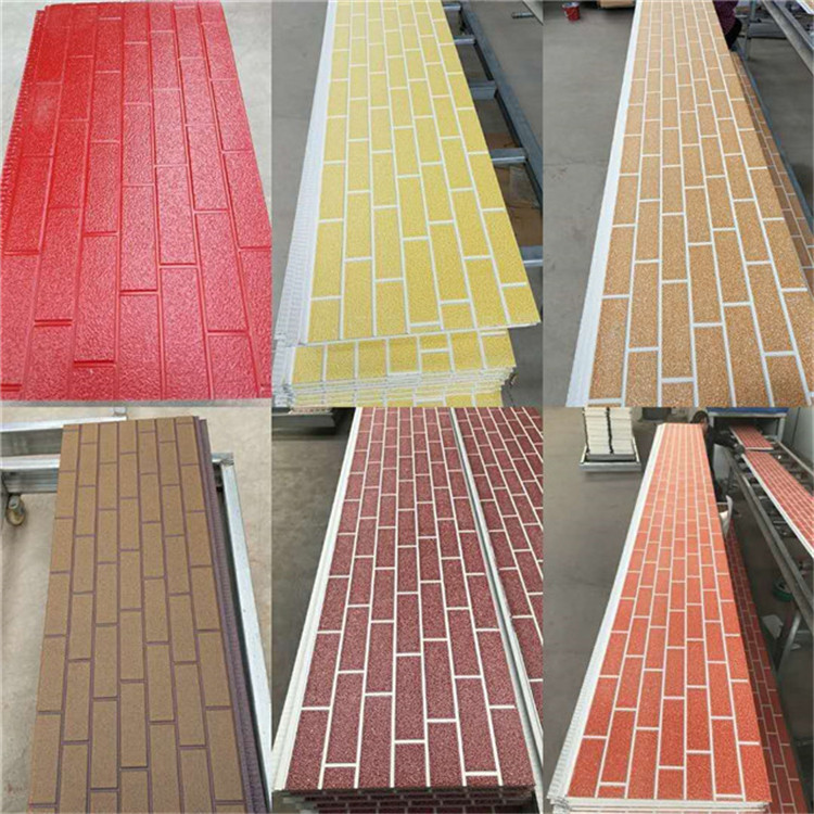 faux brick insulation wall panel