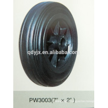 "solid rubber wheel 8""x2"""