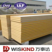 Panel sándwich de poliuretano para construcción prefabricada
