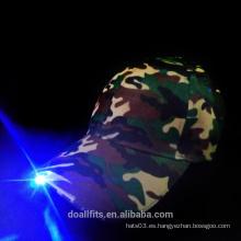 Nueva tela de camuflaje con una gorra de béisbol ligera de buena calidad