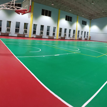 Multi Sports PVC Basketball Sportboden