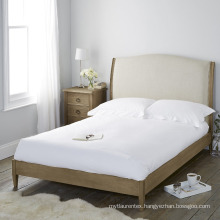 China supplier 100% cotton hospital/hotel/home white bed sheets