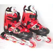 Детский спорт ПВХ колеса Инлайн коньки