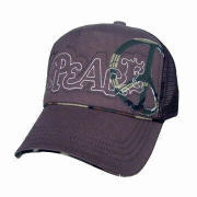 New style baseball cap, made of cotton, embroidery on front