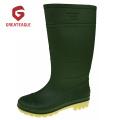 Cheap PVC Matt Surface  Working Rain Boots