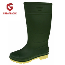 Cheap PVC Matt Surface  Working Rain Boots