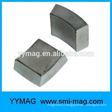 Sinter neodymium N38H ARC generator motor rotor magnets