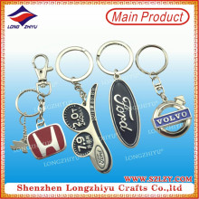 Factory Direct Sale Custom Metal Car Logo Keychain