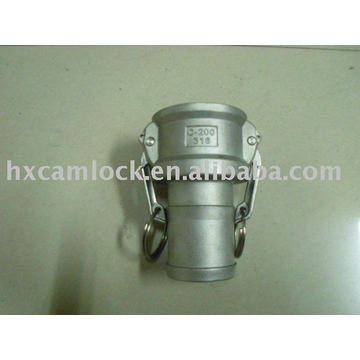 SS316 Hose Shank grooved coupling
