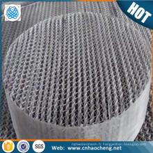 Monel K400 métal Textiles structuré tour d'emballage treillis métallique