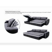Adjustable Headrest Leather Recliner Sofa Furniture (Y992)
