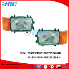 Head Lamp With Corner Lamp 1213924/1305185/1283239 LH 1213925/13051861/1283240 RH For DAF Truck Parts