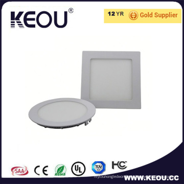 3W 4W 6W 9W SMD2835 Epistar Chip LED Panel de techo