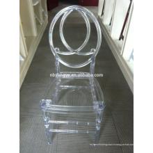 Chaise de mariage en cristal de phoenix