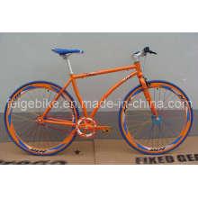 """Bicicleta del deporte / bicicleta 700c / bicicleta fija del engranaje / bicicleta del deporte / 27 """"Bicicleta sola de la velocidad (700C-A005)"""