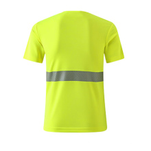 High Visibility Breathable Clothing Safety Reflective Security T Shirt
