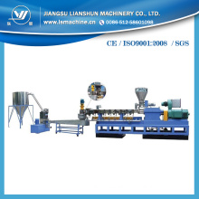 New Style PE and PP Wood Plastic Composity Granules Making Machine with International Standards