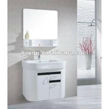 Cálido y amor & armoniosa familia brillo blanco y negro colgante o montado en la pared gabinete de baño vanidad de baño