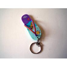 Corrente chave da forma do deslizador, anel chave feito sob encomenda (GZHY-KA-012)