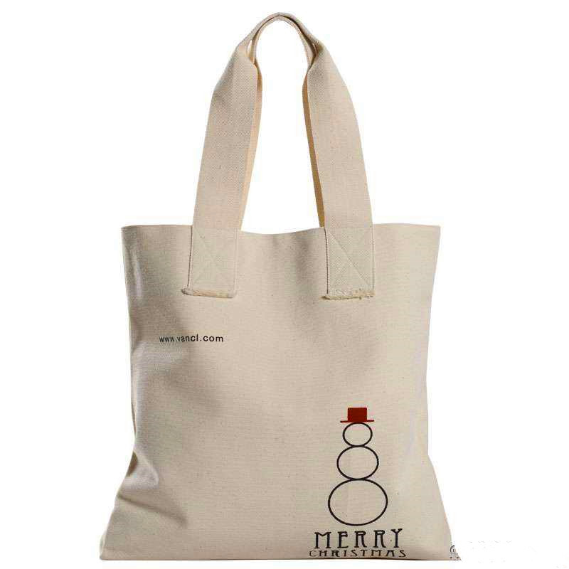 Pure nature canvas bag for women
