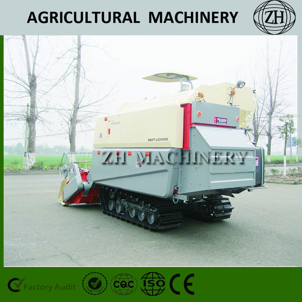 4LZ-4.0 Competitive Price Wheat Rice Combine Harvester