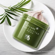 Wholesale Natural Organic Vegan Fruit Avocado Strawberry Apricot Sherbet Moisturizing Exfolianting Face Body Scrubs