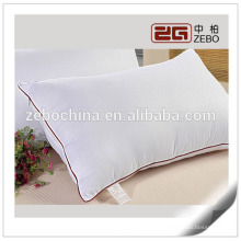 Super Soft Microfiber Filling 200gsm Cheap Bulk Hotel Pillow / Trade Assurance
