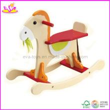 Tour en bois de bébé sur le jouet à bascule, pour l'âge 12-36 mois (W16D026)
