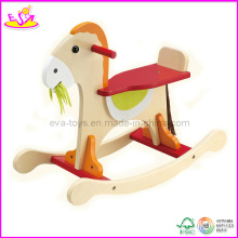 Baby Wooden Ride on Rocking Toy, for Age 12-36 Months (W16D026)