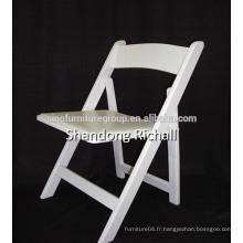 Chaise pliante en bois à la vente chaude en Chine