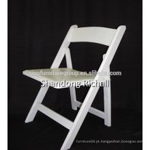 Cadeira de dobramento de madeira quente na fabricação de praia na China