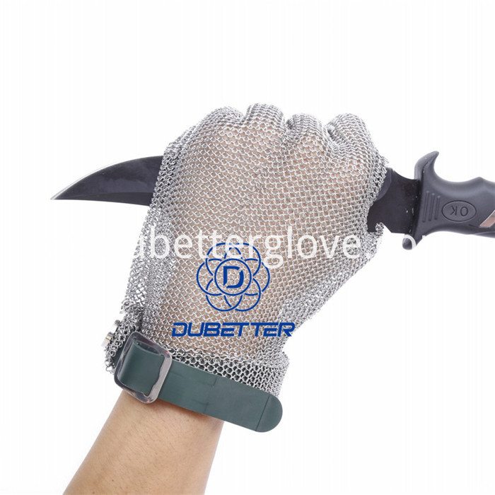 Dubetter steel mesh butcher gloves56